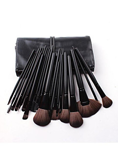 32pcs Makeup Brushes Set Squirrel Travel / Full Coverage / Portable Wood Face / Eye / Lip Others