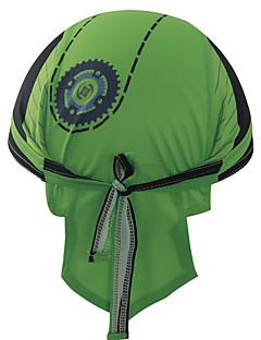 כובעים כובע Headsweat אופנייים נושם ייבוש מהיר עמיד מבודד מגביל חיידקים מפחית שפשופים תומך זיעה רך קרם הגנה לנשים לגברים יוניסקס לבן ירוק