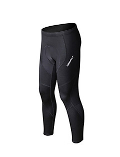 SPAKCT® Men's Running Tights Breathable Quick Dry YKK Zipper Fall/Autumn Winter Exercise & Fitness Racing Running 100% Polyester Slim