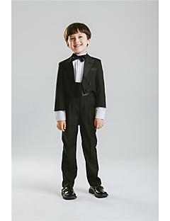 Bavlna Směs polyesteru a bavlny Oblek pro mládence - 5 Pieces Obsahuje sako Tričko Kalhoty pas Motýlek