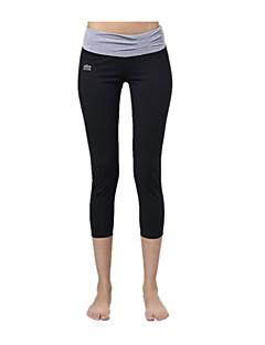 Jóga kalhoty Cyklistické kalhoty Legíny Prodyšné Rychleschnoucí Komprese Ultra Hafif Kumaş Vysoký Natahovací Sportovní oblečení Dámské