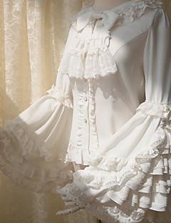 חולצה לוליטה גותי לוליטה מתוקה לוליטה קלאסית ומסורתית לוליטה פאנק Wa Lolita מלח לוליטה בהשפעת וינטאג' אלגנטי ויקטוריאני רוקוקו נסיכות