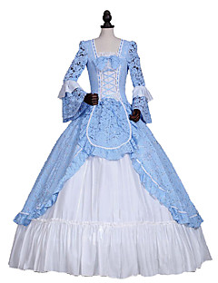 Steampunk®Renaissance American Revolution Lace Dress Ball Gown Theater Reenactment Costume