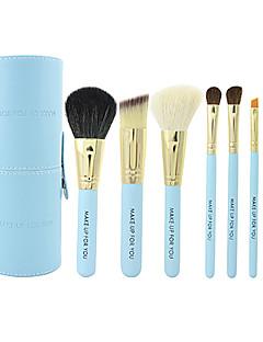 7 Brush Sets Kwast van ponyhaar / Kwast van geitenhaar / Paard Beperkt bacterieën Lip / Oog / Gezicht MAKE-UP FOR YOU