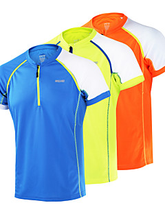 ARSUXEO® Men's Short Sleeve Running Tops Breathable Quick Dry Antistatic Limits Bacteria Static-free Lightweight Materials Spring Summer
