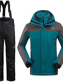 Pánské Zimní bunda / Sady oblečení/Obleky Lyže Voděodolný / Zahřívací / Větruvzdorné ZimaS / M / L / XL / XXL