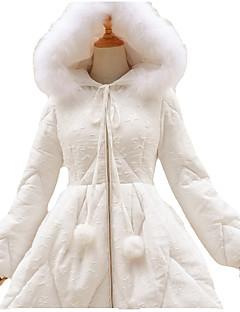 מעיל לוליטה מתוקה לוליטה Cosplay שמלות לוליטה לבן Black אחיד שרוול ארוך לוליטה מעיל ל נשים Terylene פוליאסטר