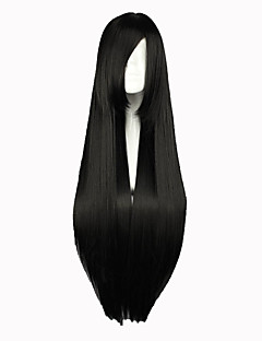 Cosplay Wigs Dangan Ronpa Celestia Ludenberg Black Long Anime/ Video Games Cosplay Wigs 80 CM Heat Resistant Fiber Female