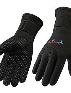 Dykkerhandsker Fuld Finger Vinterhandsker Aktivitets- / Sportshandsker Ski Fornøjelse Sport Skøjtning DykningHold Varm Anti-skrid