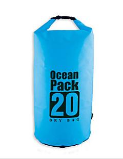 5L L 防水ドライバッグ 圧縮パック 防水バッグ 防水 速乾性 防雨 防湿 フローティング コンパクト 多機能の ヘッドセット のために 水泳 ビーチ 屋外 キャンピング&ハイキング