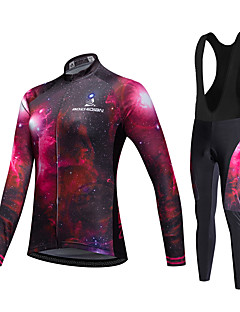 AOZHIDIAN Spring/Summer/Autumn Long Sleeve Cycling JerseyLong Bib Tights Ropa Ciclismo Cycling Clothing Suits #AZD062