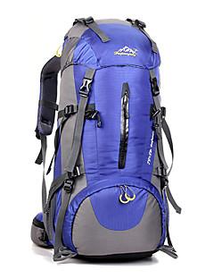 50 L バックパッキング用バックパック サイクリングバックパック バックパック 登山 レジャースポーツ サイクリング/バイク キャンピング&ハイキング 防水 高通気性 耐衝撃性の ナイロン
