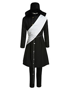 Inspired by Black Butler Untertaker Anime Cosplay Costumes Cosplay Suits Patchwork Black Long Sleeve Coat / Shawl