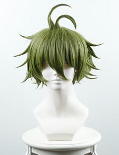 New Danganronpa V3 Killing Harmony Rantaro Amami Green Anime Cosplay Wigs Wholesale