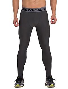 Vansydical® Heren Hardlopen Legging Kleding Onderlichaam Sneldrogend Voorjaar Zomer Training&Fitness Textiel Binnenwerk Ruimvallend