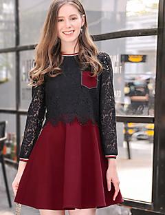 a55ee6719edf Γυναικείο Εξόδου Καθημερινά Απλό Κομψό στυλ street Γραμμή Α Φόρεμα