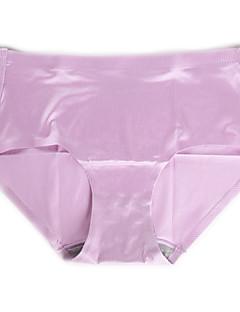 Jednobarevné Sexy Bezešvé Bavlna Nylon Spandex Bambusovo karbonové vlákno