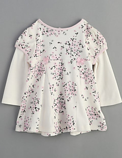 Baby Casual/Daily Print Blouse-Cotton-Spring Fall-