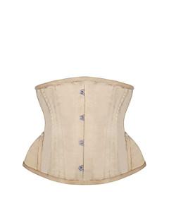 여성 언더버스트 코르셋 잠옷,섹시 푸시 업 Kontor/företag 자카드-여성의 중간 폴리에스테르