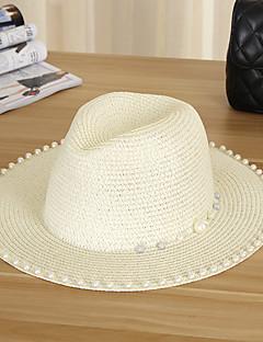 Для женщин Для женщин На каждый день Соломенная шляпа Шляпа от солнца,Соломка,Лето