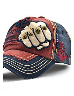 ユニセックス コットン ベースボールキャップ 日よけ帽,ヴィンテージ カジュアル 夏 オールシーズン