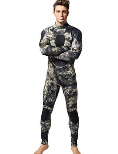 MYLEGEND® Férfi 3mm Drysuits Vízálló Melegen tartani Viselhető YKK Zipper Neoprén Búvárruha Vízhőbuvárruha-Úszás BúvárkodásTavasz Nyár