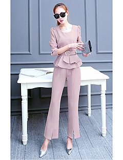 Kvinder&# 39; s jakkesæt foråret 2017 nye bølge af kvindelige mode forår og efterår langærmede bukser stykke temperament små duftende
