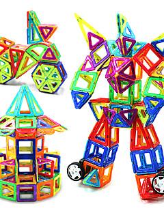 Magneettilelut Rakennuspalikat Opetuslelut Magnetic Blocks Lelut Gift Rakennuspalikat Rakennuslelu Pyöreät Neliö Kolmia Muovi Paperi2 - 4