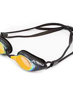 плавательные очкиПротиво-туманное покрытие Износоустойчивый Водонепроницаемый Регулируемый размер УФ-защита Небьющийся Фиксирующий шнурок