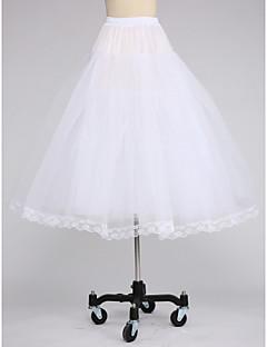 Déshabillés Robe trapèze Mollet 3 Filet de tulle Blanc