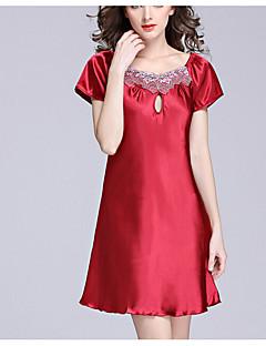 Krajkové prádlo Noční prádlo Krajka Jednobarevné-Polyester Střední Dámské