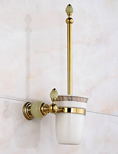 トイレブラシ&ホルダー モダン 真鍮