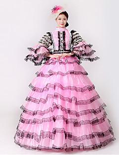 Steampunk®  Marie Antoinette Masquerade Victorian Queen Ball Gown Wedding Dress Reenactment Theater Ruffles  Rococo Ball Gown