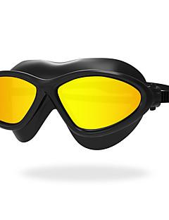 плавательные очки Противо-туманное покрытие Износоустойчивый Водонепроницаемый Стойкий к царапинам Небьющийся Силикагель Поликарбонат