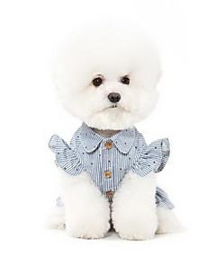 Собаки Платья Одежда для собак Лето Принцесса Милые