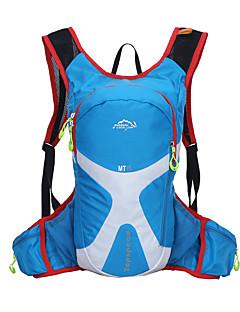 15 L Cyklistika Backpack batoh Voděodolný Multifunkční Zelená Červená Černá Tmavě modrá Nebeská modř Armádní zelená