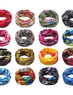 Kukly nákrčníky Face Mask Šátky do vlasů Kolo Vysoká prodyšnost (> 15,001 g) Proti sluci UnisexOranžová Kamufláž Safírová modř Světlá