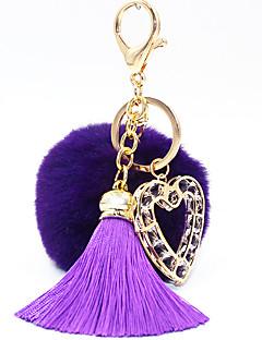 Key Chain Cirkularno Srcolik Key Chain Tamno plava Srebrna Crna Fade Obala Siva Crvena Metal