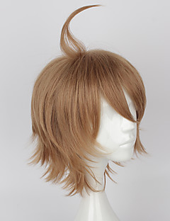 Cosplay Wigs Cosplay Cosplay Brown Short Anime Cosplay Wigs 35 CM Heat Resistant Fiber