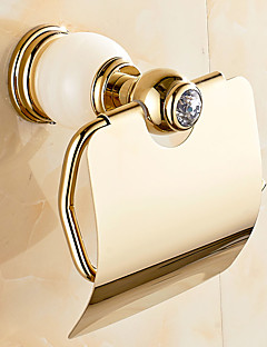 Toiletrulleholder / GrønMessing /Moderne
