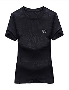 Miesten Naisten T-paita vaellukseen Vedenkestävä Nopea kuivuminen Hengittävä T-paita varten Kiipeily Kesä M L XL XXL XXXL