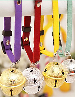 Dog Necklace Dog Clothes Summer Solid Cute Rainbow