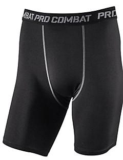 Homens Corrida Shorts Roupas de Compressão Calças Respirável Secagem Rápida Compressão Primavera Verão OutonoExercício e Atividade Física