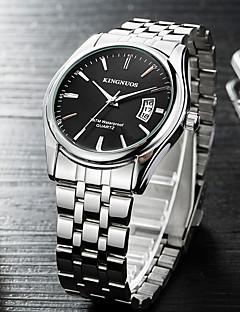 גברים שעוני ספורט שעונים צבאיים שעוני שמלה שעוני אופנה שעון יד שעונים יום יומיים Chinese קווארץ קוורץ יפני לוח שנה מתכת אל חלד להקהמזל