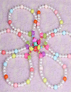 Dog Necklace Dog Clothes Summer Pearl Cute