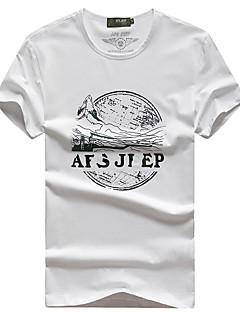 Miesten T-paita vaellukseen Hengittävä T-paita varten Kalastus Kesä L XL XXL XXXL XXXXL