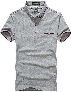 Miesten T-paita vaellukseen Nopea kuivuminen Hengittävä T-paita varten Kalastus Kesä L XL XXL XXXL XXXXL