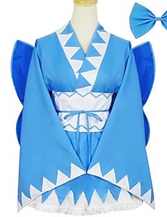 תלבושות Wa Lolita לוליטה Cosplay שמלות לוליטה אחיד שרוול ארוך קצר / מיני ל