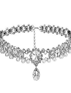 클래식/전통적 롤리타 목걸이 스파클 & 샤인 로리타 액세서리 목걸이 에 대한 인공 젬스톤