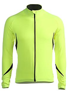 Jaggad Cyklo bunda Pánské Dlouhé rukávy Jezdit na kole Dres sako Vrchní část oděvuZahřívací Větruvzdorné Zateplená podšívka Nositelný